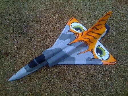 SNice Mirage 2000C 55mm EDF - FREE Plans